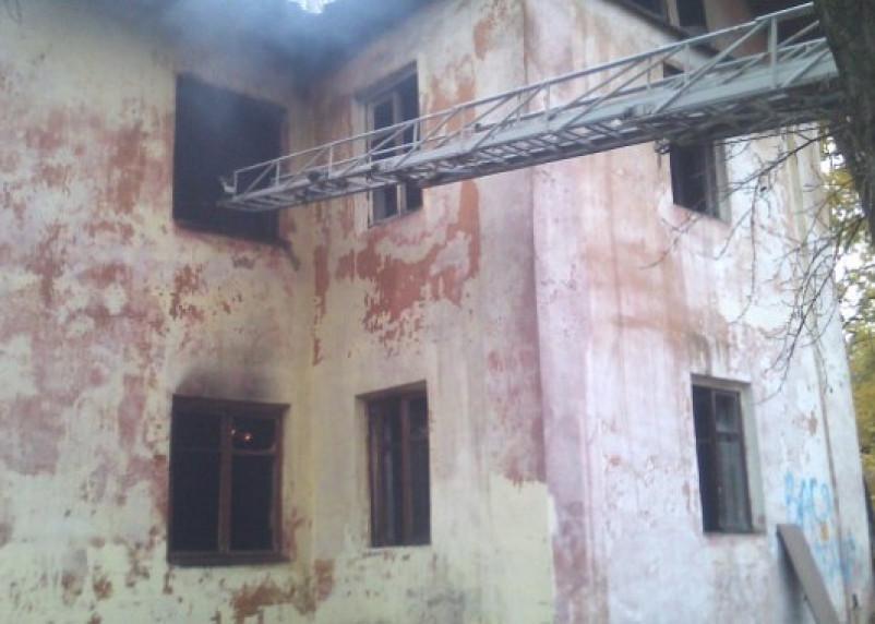 В Сафонове территорию под стройку «очищают» от домов с помощью поджога?