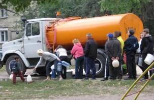 На трех улицах в Смоленске отключат холодную воду