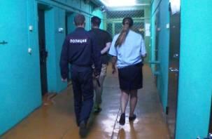 В Смоленске двух парней поймали на «закладке» крупной партии наркотиков