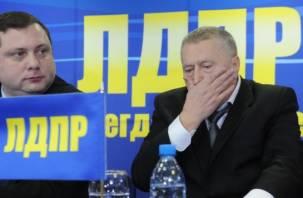 Жириновский потребовал проверить IQ смоленского губернатора?
