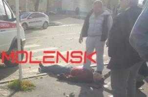 В Смоленске на Багратиона мужчине пробили череп