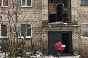 Под Смоленском молодая мама-сирота живет в нечеловеческих условиях