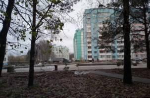 Новый сквер в смоленском микрорайоне Королевка почти готов
