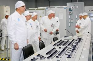 Специалисты проверили насколько безопасна смоленская АЭС