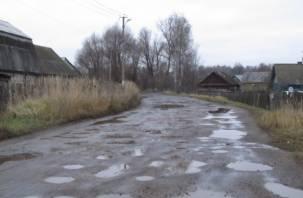 Отремонтированные дороги в Ярцеве покрылись ямами и ухабами