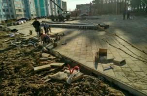 В Смоленске рядом со сквером на улице Ударников запретят парковаться
