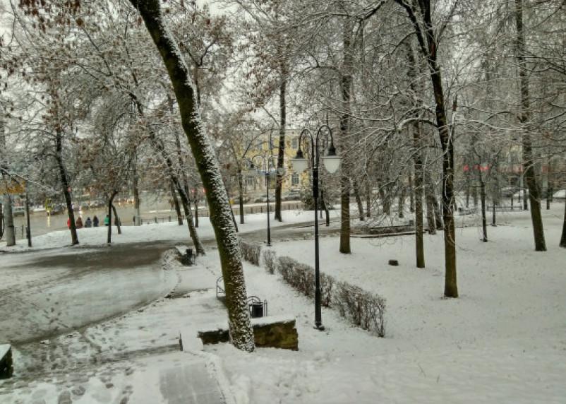 Штормовое предупреждение: снегопад обрушится на Смоленщину
