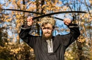 В Смоленске казаки покажут, как надо рубить шашками