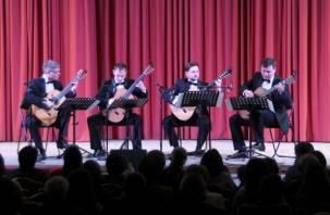 Впервые в Смоленске открылся гитарный фестиваль