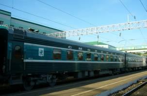 Фирменные поезда «Москва-Смоленск» заменят прицепными вагонами