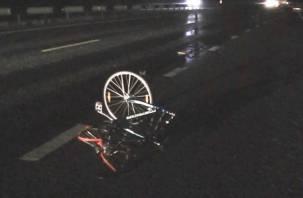 Смоленский велосипедист скончался под колесами «девятки»