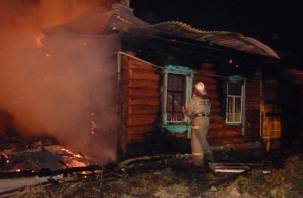 В Смоленской области в огне погибли мужчина и женщина