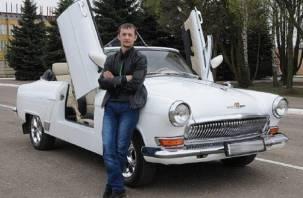 Смолянин сделал из старой «Волги» стильный кабриолет