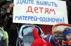Из-за низких пособий смоленские мамы-одиночки рискуют остаться без детей?