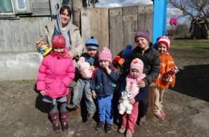 Волонтеры приглашают смолян посетить многодетные семьи
