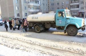 Зима в Смоленске началась с отключений холодной воды