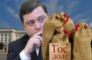 Уволят ли губернатора Смоленской области за госдолг?