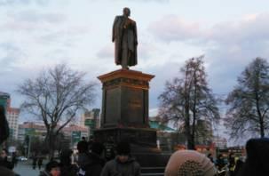 В Челябинске открыли памятник Столыпину, изготовленный в Смоленске