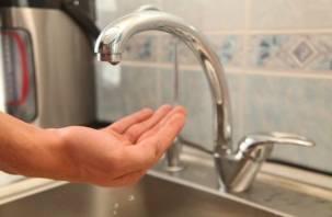 В Заднепровье Смоленска пройдут масштабные отключения холодной воды