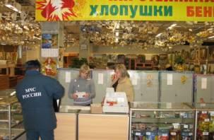 В Смоленской области начали проверять места продажи пиротехники