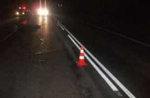 В Смоленске водитель иномарки насмерть сбил пешехода