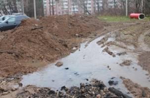 В Смоленске благоустроено только 7 дворов из 53-х