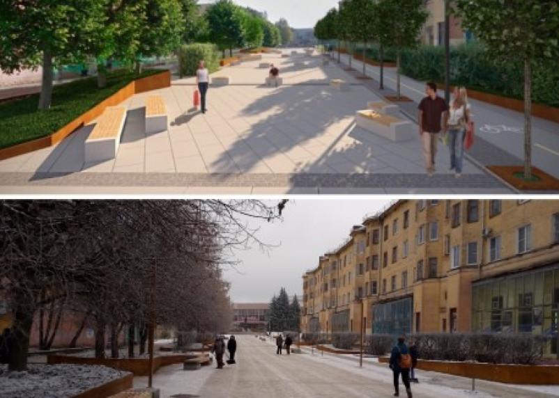 Сквер на улице Коммунистической в Смоленске: что планировали, и что сделали