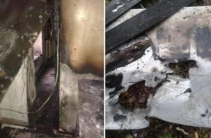 В Смоленске сгорела кондитерская защитницы Соловьиной рощи