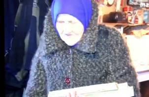 92-летняя смоленская старушка выживает в нечеловеческих условиях