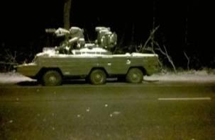 В Смоленске ночью «промчалась» «боевая» машина без сопровождения