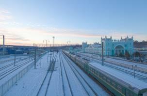На новогодних каникулах запущены дополнительные поезда через Смоленск