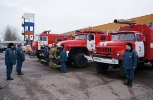 Смоленские спасатели работают в режиме повышенной готовности