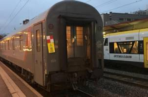Пассажиры поезда Париж-Москва, проходящего через Смоленск, застряли в вагонах без воды и тепла