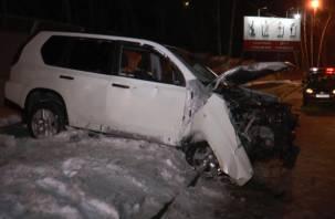 В Вяземском районе два человека погибли в страшном ДТП