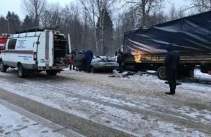 После «мясорубки» в Кардымовском районе умерла пятая пассажирка ВАЗ