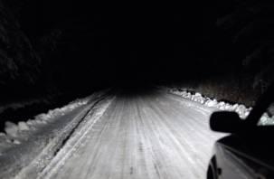 На трассе Р-120 в Смоленской области пропало освещение