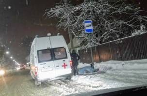 Череда внезапных смертей: в Заднепровском районе Смоленска мужчина не дошел до работы