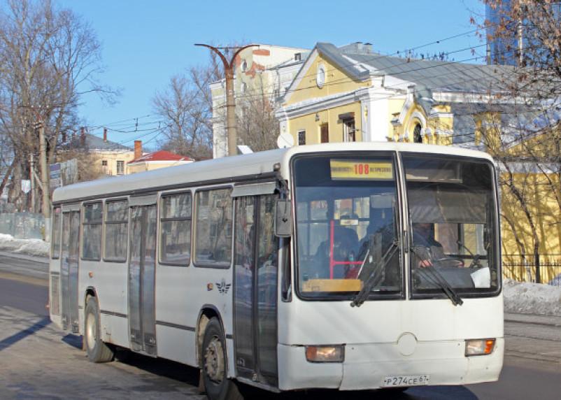 На новогодних праздниках изменится расписание смоленских пригородных автобусов