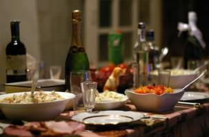 Сколько стоит новогодний стол в Смоленске