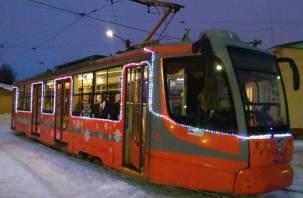 В Смоленске всю новогоднюю ночь будут курсировать трамваи и троллейбусы