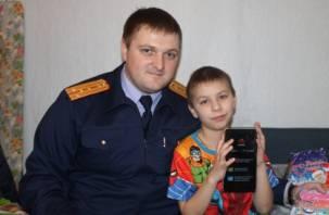 Следователи исполнили мечты детей, осиротевших из-за пожара в Вязьме