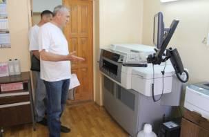 В смоленской больнице без дела простаивает дорогостоящее оборудование