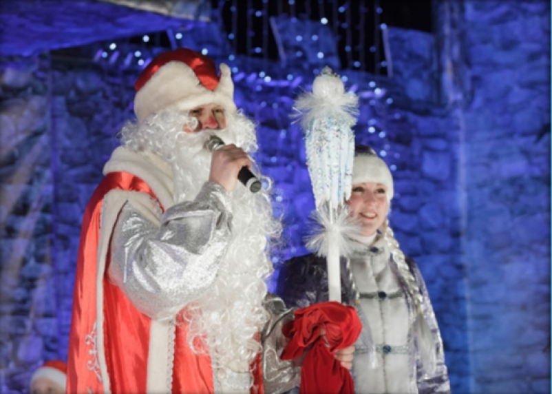 Стала известна программа новогодних мероприятий в Смоленске