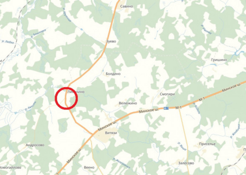 В «мясорубке» на заснеженной дороге в Смоленской области погибли четыре человека
