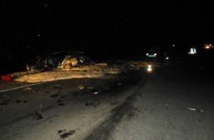 В Рославльском районе в аварии с фурой пострадал человек