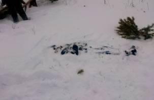 В смоленском лесу найден труп неизвестного мужчины