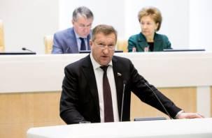 Экс-сенатор от Смоленской области Анатолий Мишнев задержан сотрудниками ФСБ