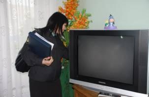 У смолян изымали телевизоры, ноутбуки, стиральные машины