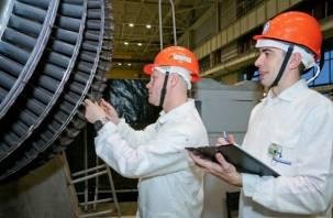 На Смоленской АЭС выполнен уникальный ремонт турбогенератора
