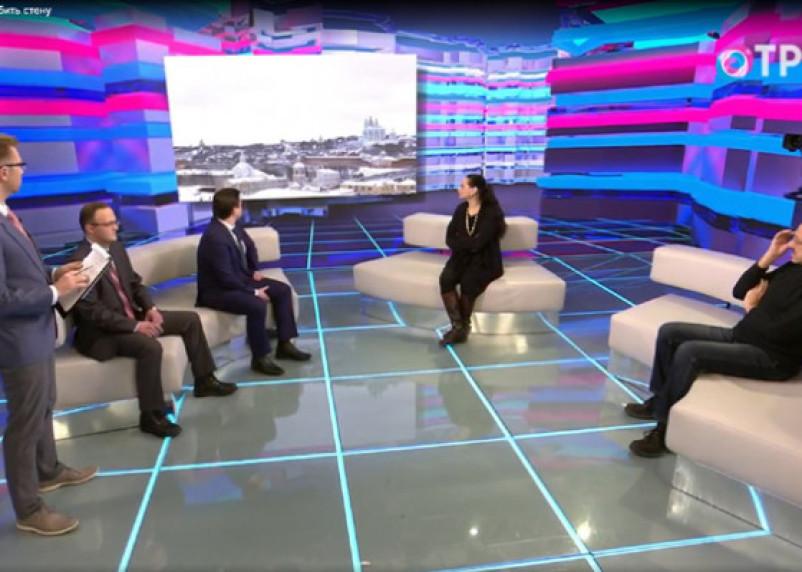 На федеральном телеканале обсудили состояние смоленской крепости
